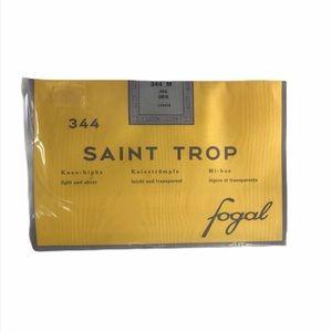New Saint Trop Fogal Knee-highs 344M 206 GRIS